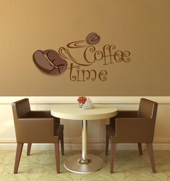 Wandtattoo Coffee farbig Motiv #111