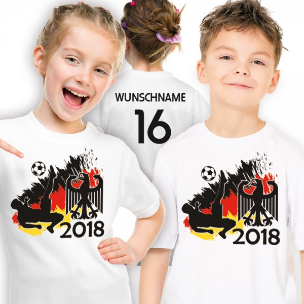 Fussball WM 2018 - Kinder-Shirt