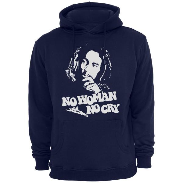 Bob Marley Hoody - Navy