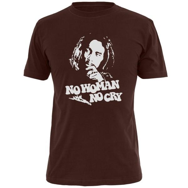 Bob Marley Shirt - Braun