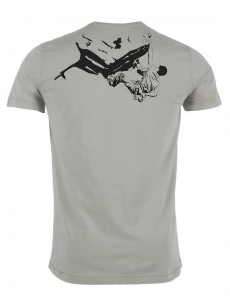 Klettern BIO Shirt - Grau