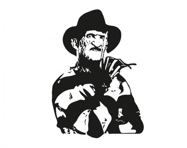 Wandtattoo Freddy Krueger Motiv #208