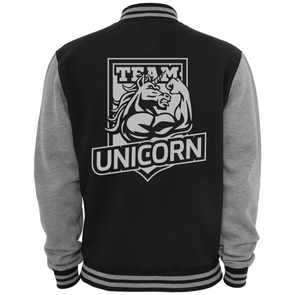 Unicorn College Jacke - Back