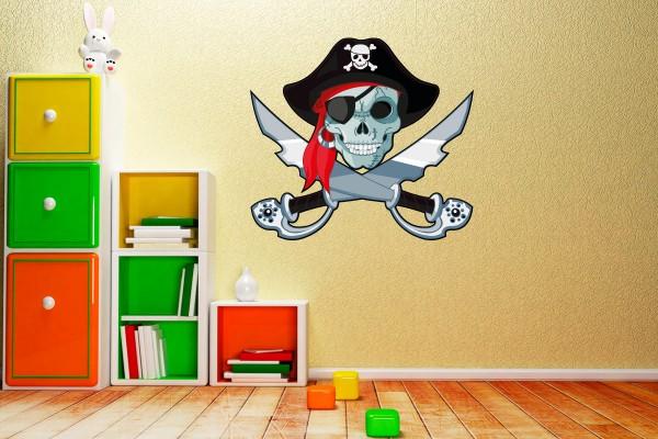 Pirat Piratenschädel Motiv #130