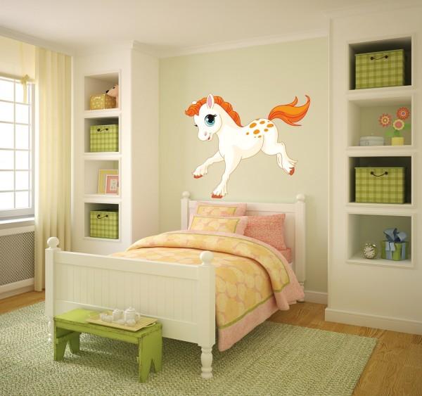 Pferdchen Fohlen farbig Motiv #121