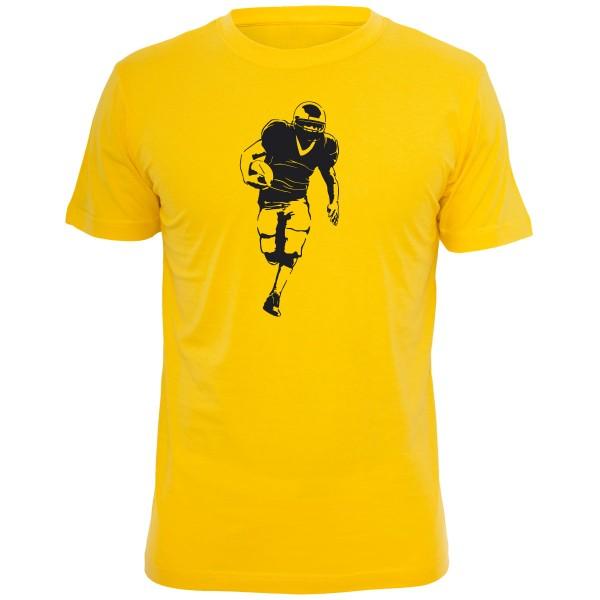 American Football Shirt - Gelb