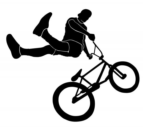 Wandtattoo Profi BMX Fahrer Motiv #198