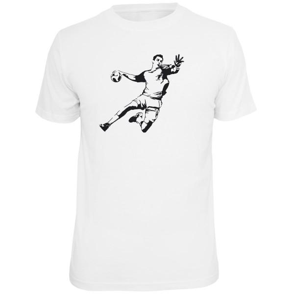 Handballer Shirt - Weiss