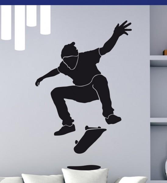 Wandtattoo Skater Skatboarder Motiv #126
