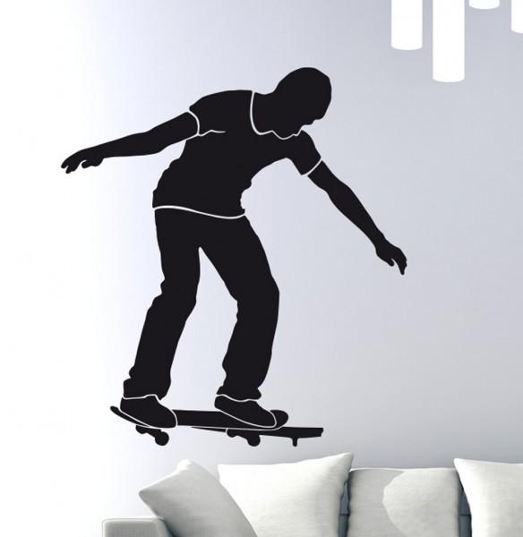 Wandtattoo Skater Skatboarder Motiv #127