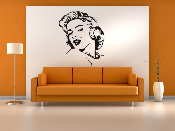 Wandtattoo Marilyn Monroe Motiv #81