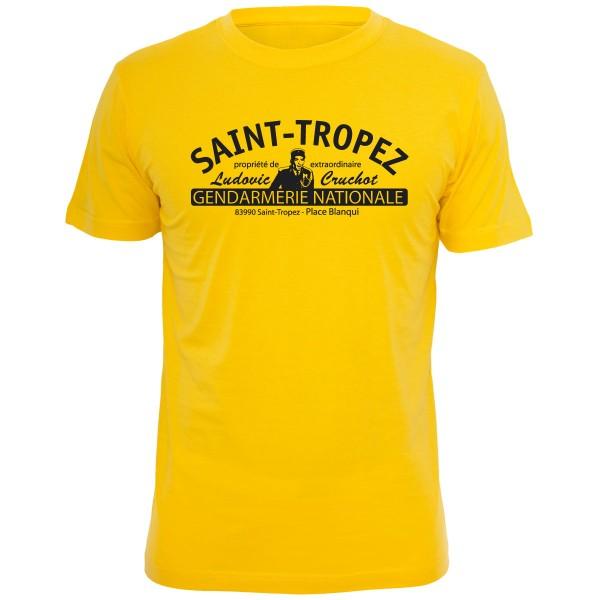 Louis de Funes - Shirt Gelb