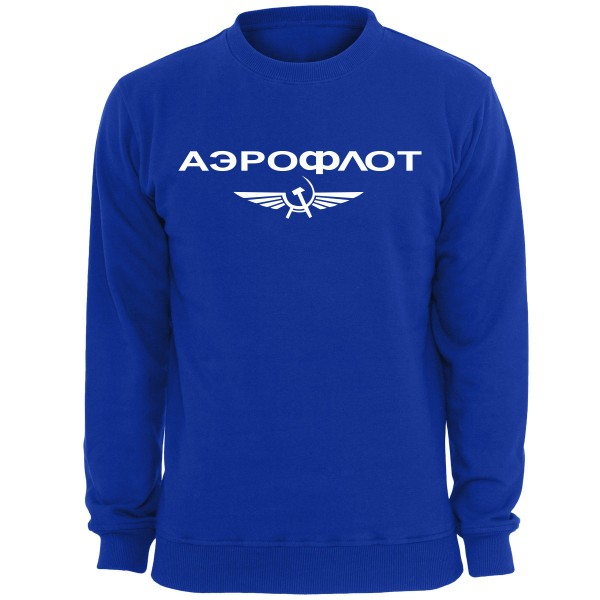 Aeroflot Sweatshirt - Royal