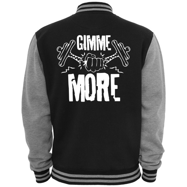 Gimme More - 2-Tone Collegejacke