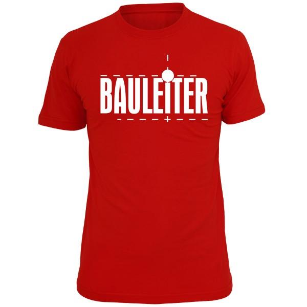 Bauleiter Premium – T-Shirt