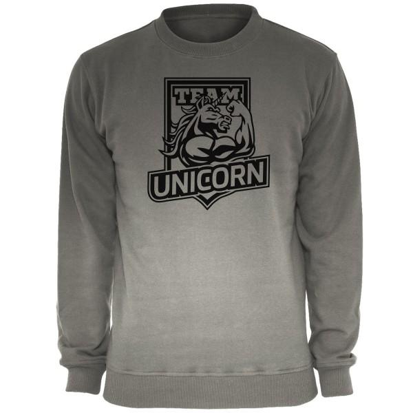 Team Unicorn Sweatshirt Einhorn Pullover Sonderfarbe