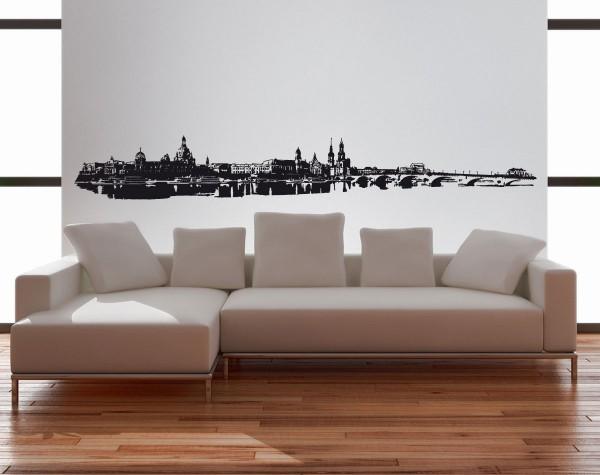Wandtattoo Dresden Skyline Motiv #87